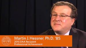 dr marty hessner distinguished alumni award professional dr marty hessner 85 distinguished alumni award professional achievement carroll university