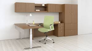 mercial desk and storage set PULSE First fice