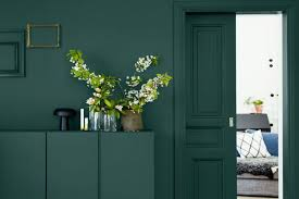 The <b>elegance</b> of <b>dark green</b> - Interior Notes