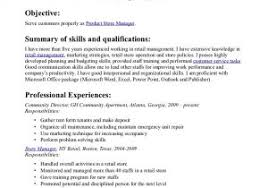 Resume For Retail Stores Beautiful Retail Sales Resume Examples