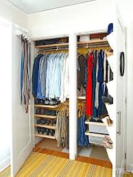 small closet doors must see organizing makeovers pocket organizer custom closets and small closet ideas with