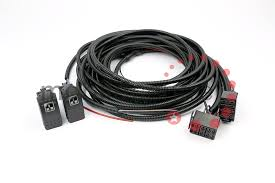 defender electric window basic wiring loom harness kit complete Honeywell Harness at Universal Wire Harness With Electric Windows