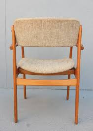 mid century danish modern erik buch dining chair set of six 2