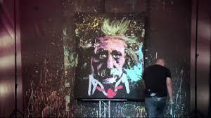 Upside Down Art Upside Down Speed Painter Entertainer Youtube