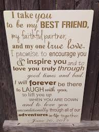 first anniversary gift for him wedding vows sign 1st Wedding Vows Plaque like this item? wedding vow plaque