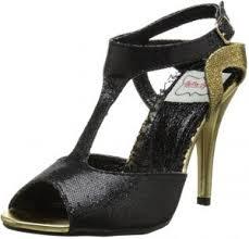 Ellie Shoes Size Chart Bettie Page Womens Bp416 Lois Dress Sandal Black 8 M Us