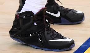 lebron shoes 12 elite. lebron james wearing nike xii 12 elite black/red (4) lebron shoes