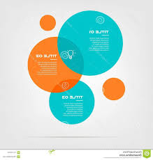 Infographic Venn Diagram Bubble Chart Elements Venn Diagram Infographics Three Circle