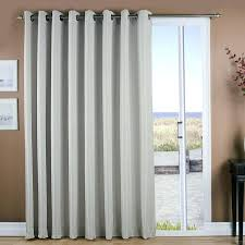 window coverings for patio doors door blackout curtains over sliding glass treatments with vertical bli