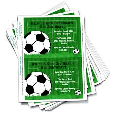 Soccer Party Invitation Template Printable Soccer Party Invitation Template