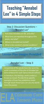 best annabel lee ideas annabelle lee poem  used this simple lesson plan for annabel lee by edgar allan poe last week