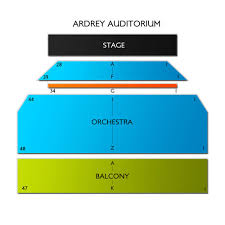 Ardrey Auditorium 2019 Seating Chart