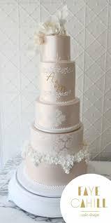 Elegant Fancy Wedding Cake Designs Metallic Weddingcake Beseenbybrides Perfectweddingguides