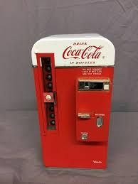 Vending Machine Piggy Bank Gorgeous Coke Cooler Piggy Bank All CocaCola Auction Signs Clocks