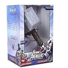 Thor Hammer Led Light Marvel Avengers 3d Light Fx 3d Thor Hammer Deco Home Lighting Lamp Lights Gift