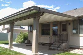 patio covers utah. Simple Covers Salt Lake Utah Home Improvement Stucco Wrap Awning And Patio Covers O