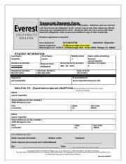 Official Transcript Request - Transcript Request Form Complete This ...
