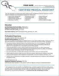 Medical Assistant Resume With No Experience Impressive Examples Of Medical Assistant Resumes With No Experience Nppusaorg