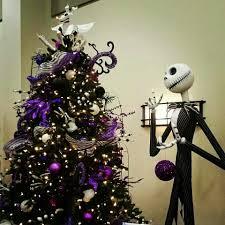 Jack Skellington Decorations Halloween Jack Skellington And A Spooky Christmas Tree Nightmare Before