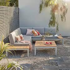 spirit garden corner sofa set grey