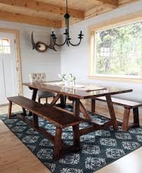 Easy Diy Dining Table Build A 2x4 Truss Table For Alaska Lake Cabin Free And Easy Diy