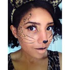 easy leopard cheetah makeup