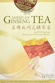 American Ginseng Tea Best American Ginseng Tea 20 Tea Bags Pure American Ginseng Roots Grown In Wisconsin By Green Gold Ginseng