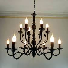 black iron candle chandelier soundco with wrought iron candle chandelier