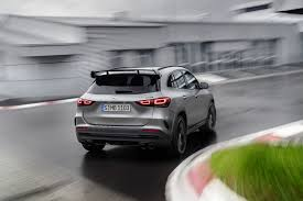 Among its many option packages, we'd choose the $1900 premium package, the $350 smartphone integration package, and the $1650 leather upholstery to make the interior feel a bit more. The 2021 Mercedes Benz Gla Class Looks Way Better With The Company S Panamericana Grille