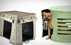 Stylish Dog Crates and Crate Covers