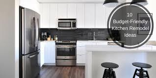 Kitchen Remodel Budget 10 Simple Budget Friendly Kitchen Remodel Ideas