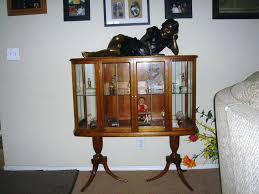 antique curio cabinets antique curio cabinets on antique curved glass curio cabinet value