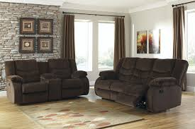Buy Ashley Furniture Garek Cocoa Reclining Living Room Set
