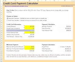 How To Payoff Credit Card Debt Calculator Credit Card Calculator Excel Debt Payment Calculator Excel Download