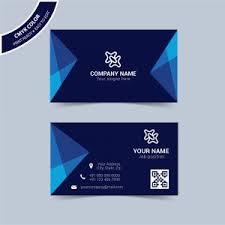 Modern Blue Business Card Template Free Download Wisxi Com