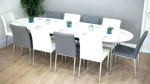round extendable dining table seats 8 square dining table for 6 seat dining table extendable 8