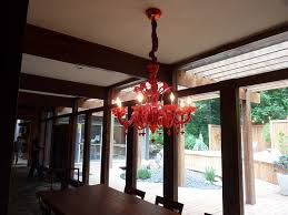 impressive home pendant lamp decoration design ideas with red chandelier heavenly dining room decorating ideas