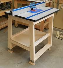 homemade router table. i love this router table, and the article that tells you how to build it. reason why is because they not only tell homemade table