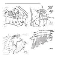 Rear mounted speaker