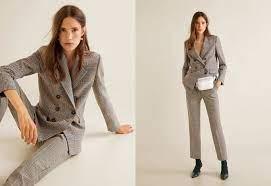 Укороченные брюки в клетку | Модные стили, Брюки, Костюм