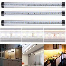 3pcs Kitchen Under Cabinet Shelf Counter LED Light Bar Lighting Kit Lamp  White