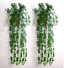 Decoration Ideas Fetching Image Of Decorative Hanging Vine Fake Decorative Plants For Home