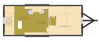 Picturesque Design Ideas Tiny House Layout Ideas 20-Foot Shipping intended  for Tiny House Design