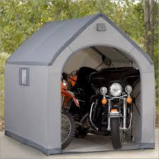 photos of outdoor motorcycle storage bubble