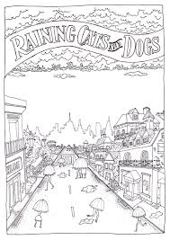 Coloring pages idioms dictionary