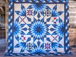 2017 Blazing Star Block of the Month Quilt Kit Only | Craftsy & 2017 Blazing Star Block of the Month Kit Adamdwight.com