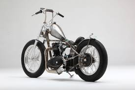 triumph t120r raw metal by acme choppers