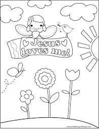 Jesus Loves Me Printable Coloring Pages Pertaining To Page 3 ...