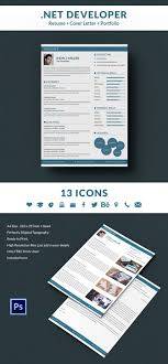 Net Developer Resume Sample Net Developer Resume Cover Letter Portfolio Template Free 42