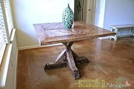 metal base pedestal dining table